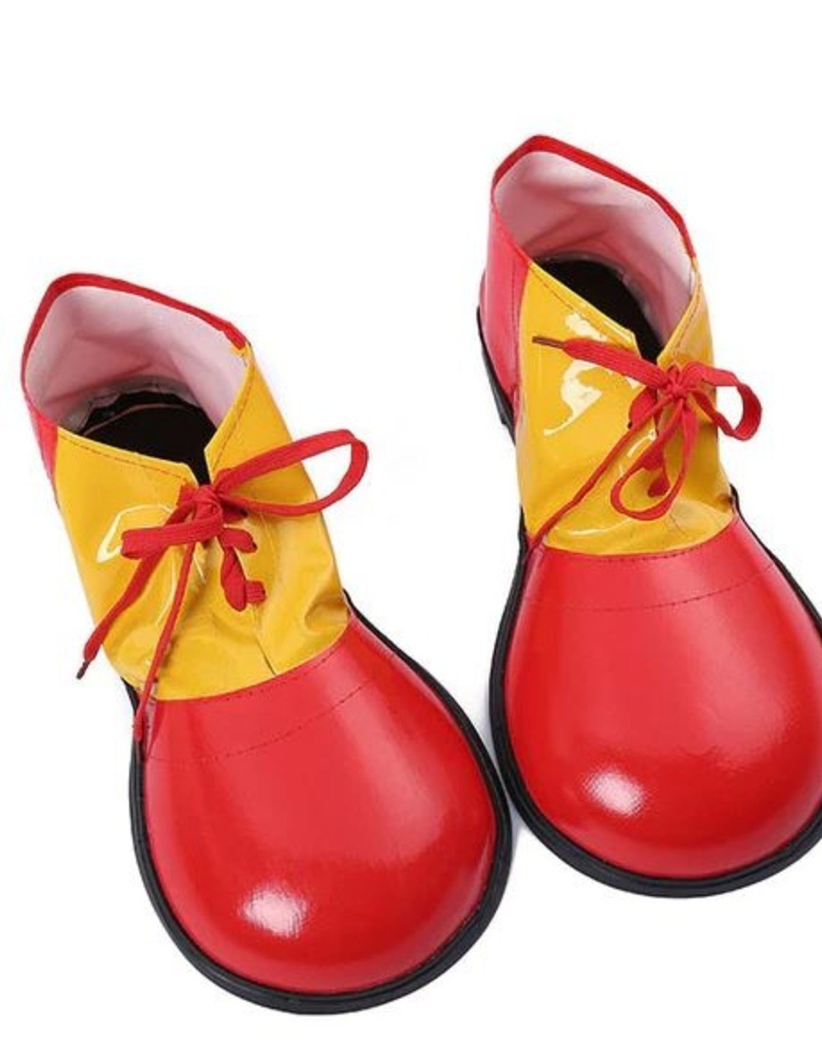 Clown Shoes Adult Red and Yellow