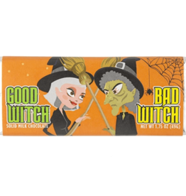 Good Witch Bad Witch Solid Chocolate Bar