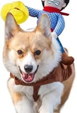Horse Rider Pet Costume MD