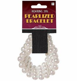 Faux Pearl Bracelet Adult Costume Accessory