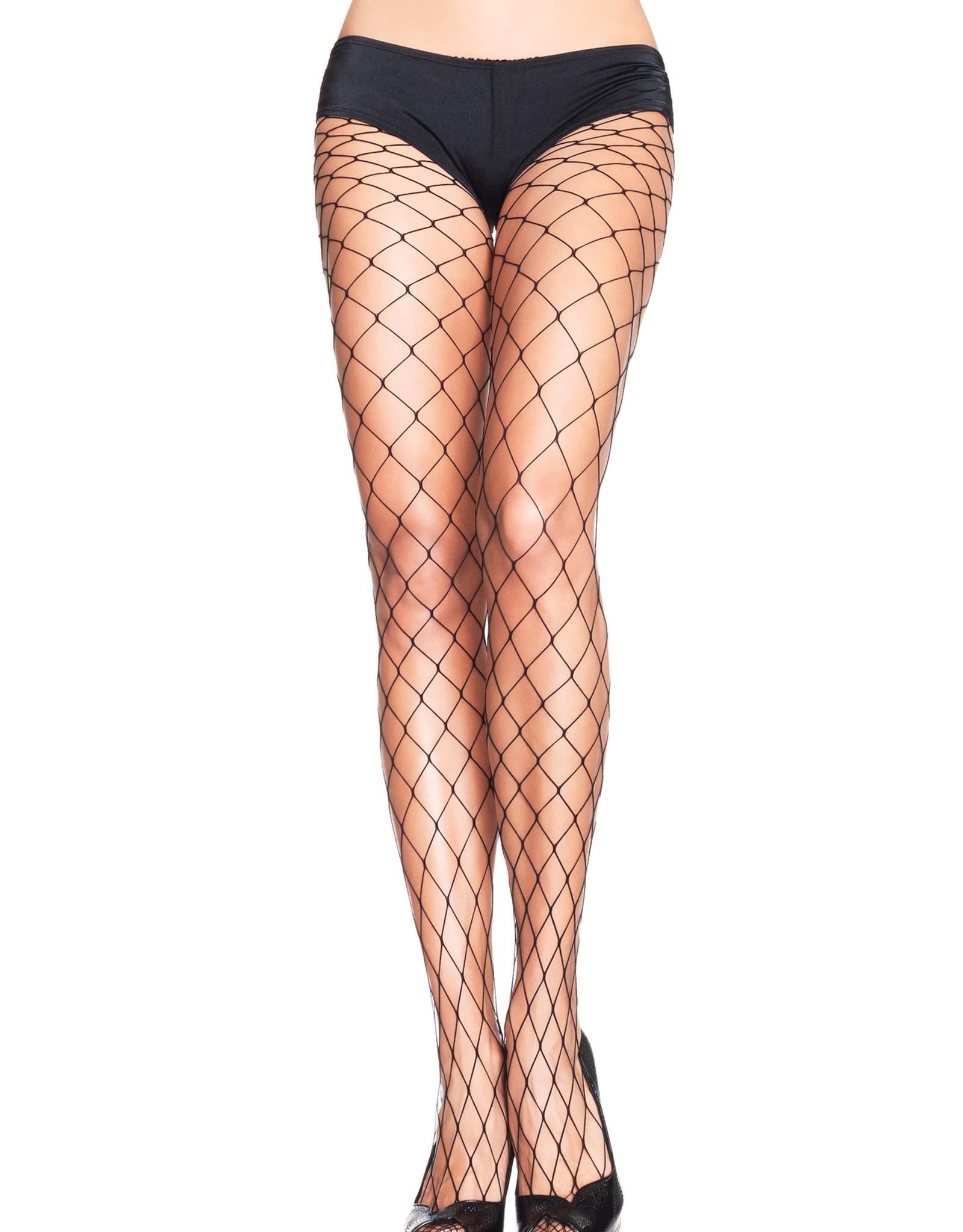 Big Diamond Net Stockings