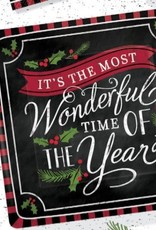 """It's The Most Wonderful Time of The Year 10"""" plate"""