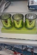 Green Tealight Candles