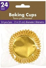 Cupcake Holders Gold