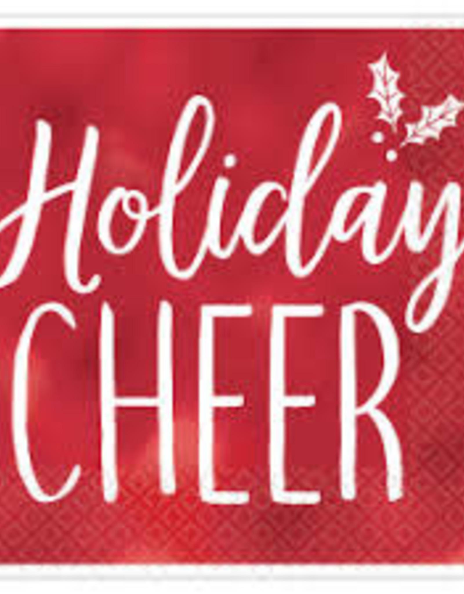 Holiday Cheer Holiday napkin
