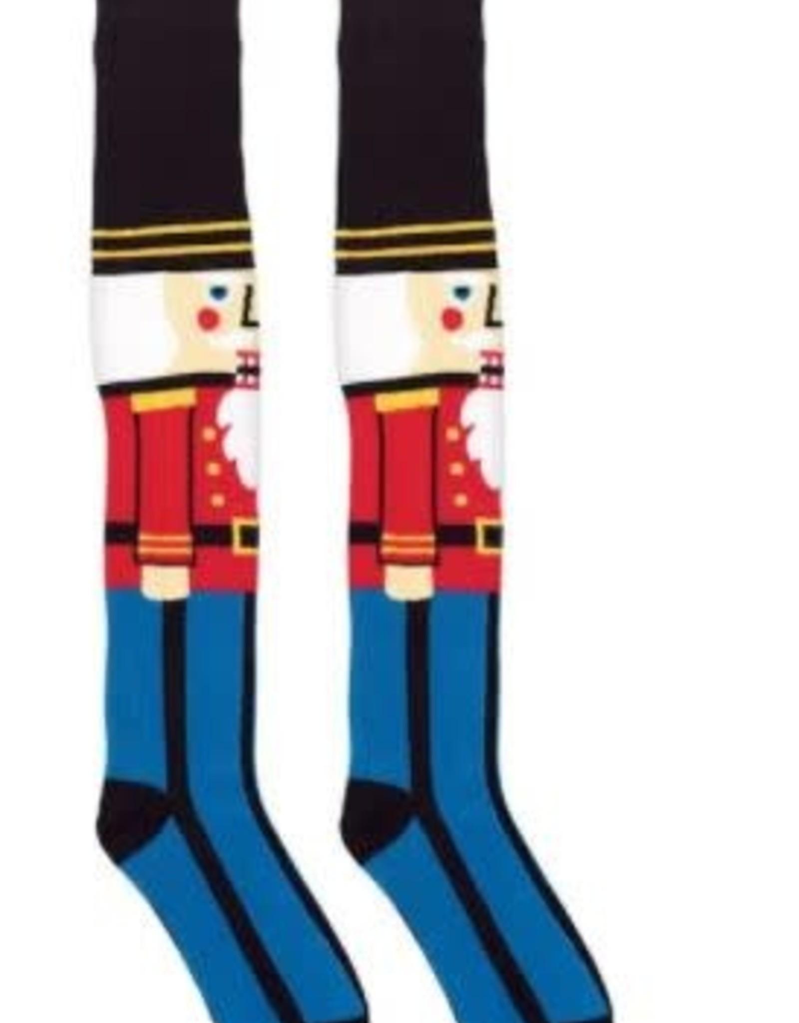 Nutcracker Over the Knee Socks