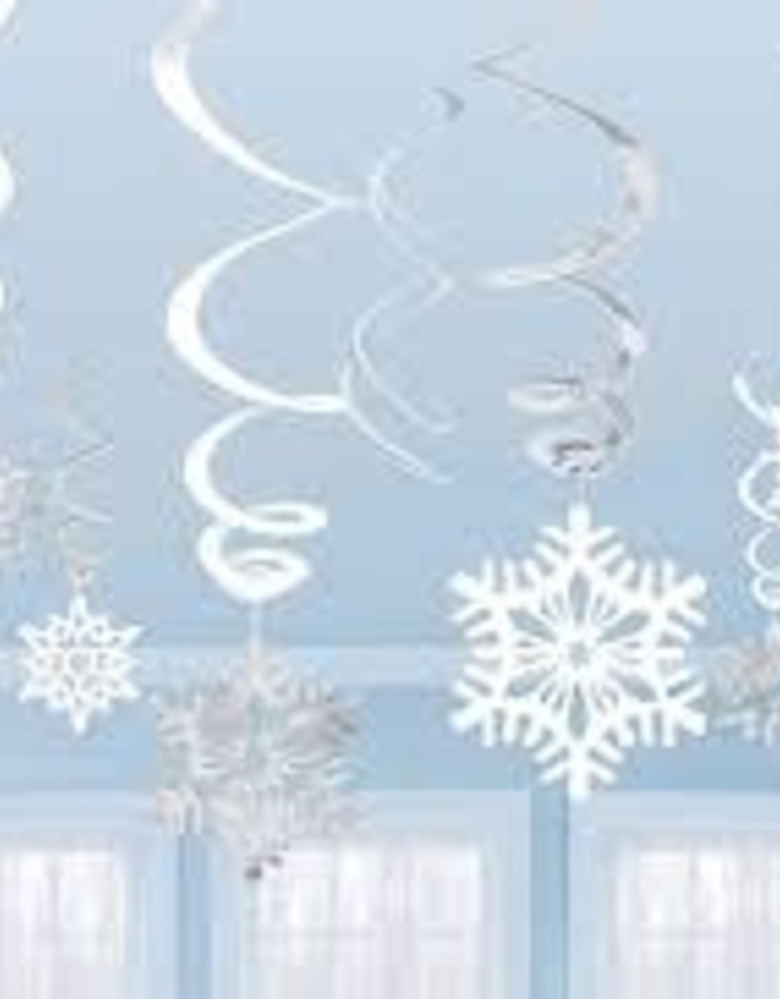 Foil snowflake swirl value pack