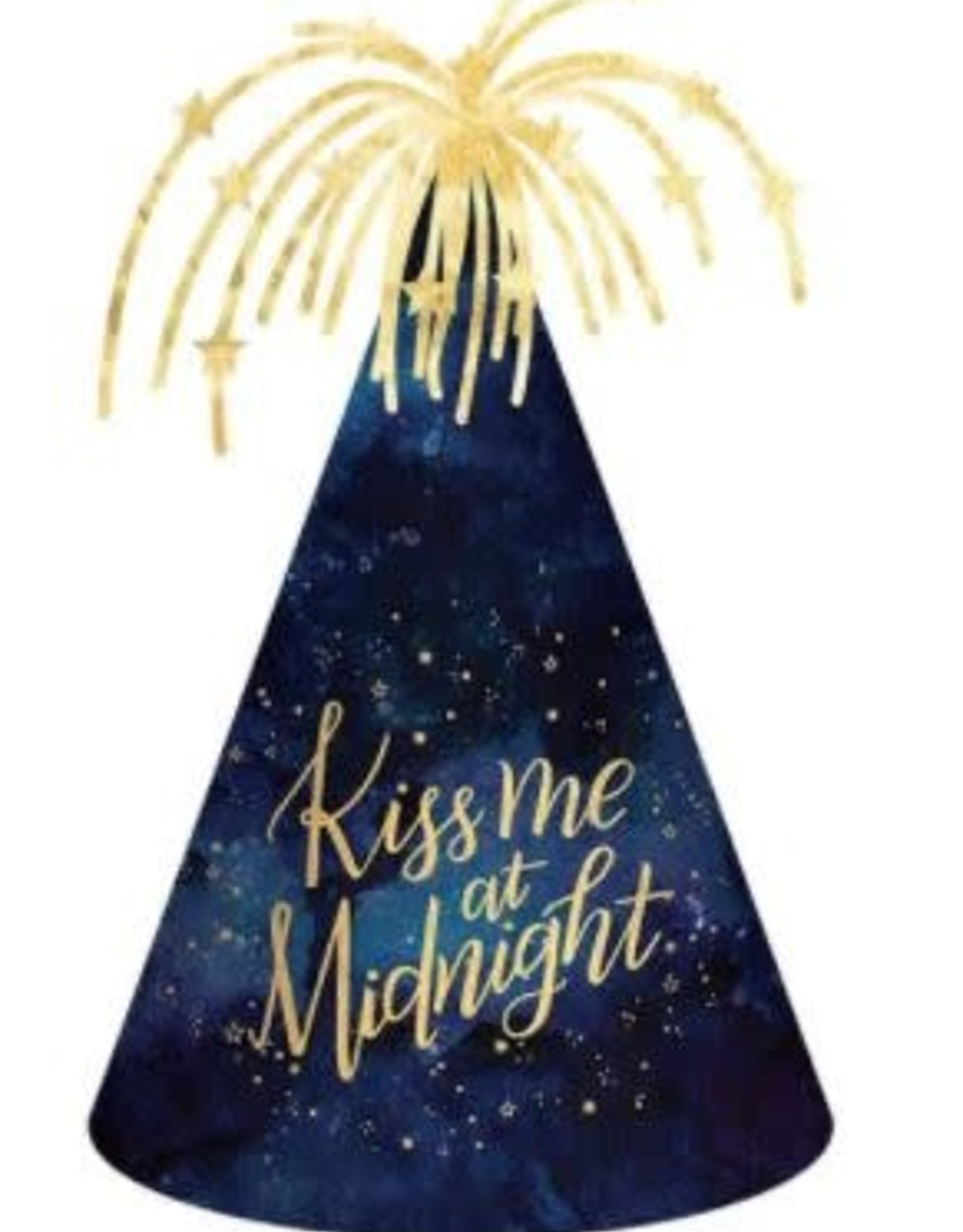 Kiss Me at Midnight Party Hat