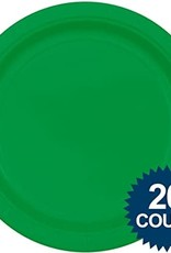 Green Plate 9 in 20 ct