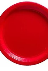 """Red 7""""  Paper Plates 20ct"""