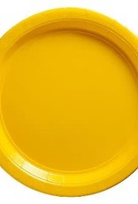 Yellow 7 in Plates Paper Plates 20ct
