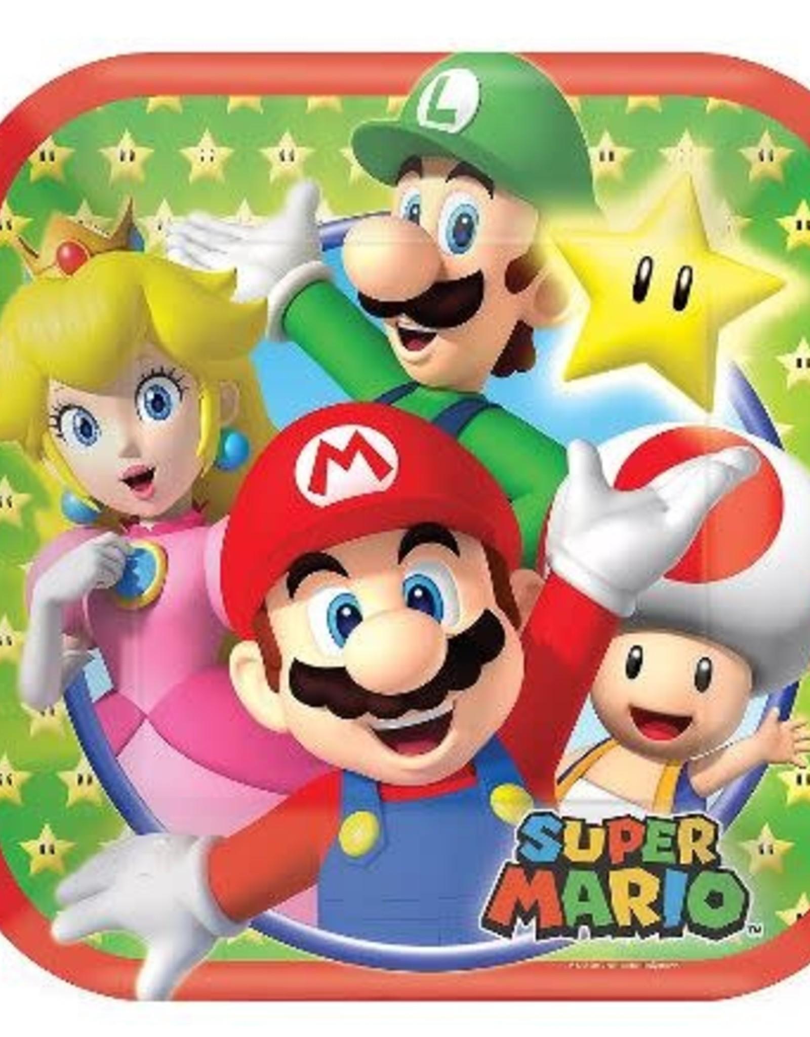 Super Mario 7 in Plate