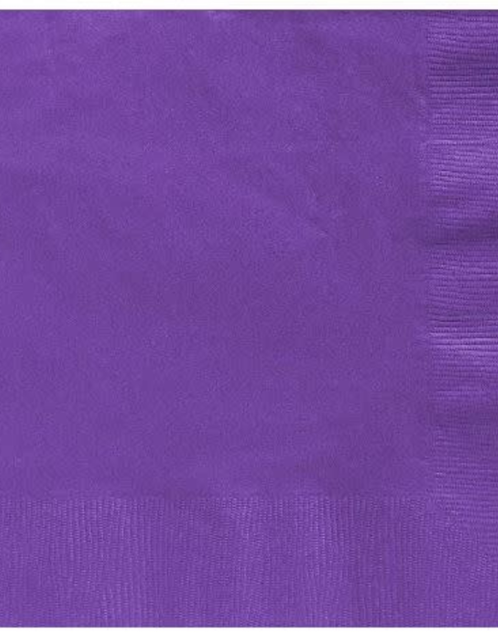 Purple Dinner 2 ply Napkins 50 ct