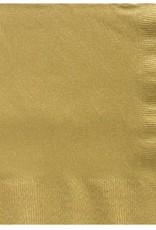 Gold 2ply dinner napkins