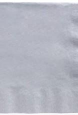 Silver 2ply dinner napkin