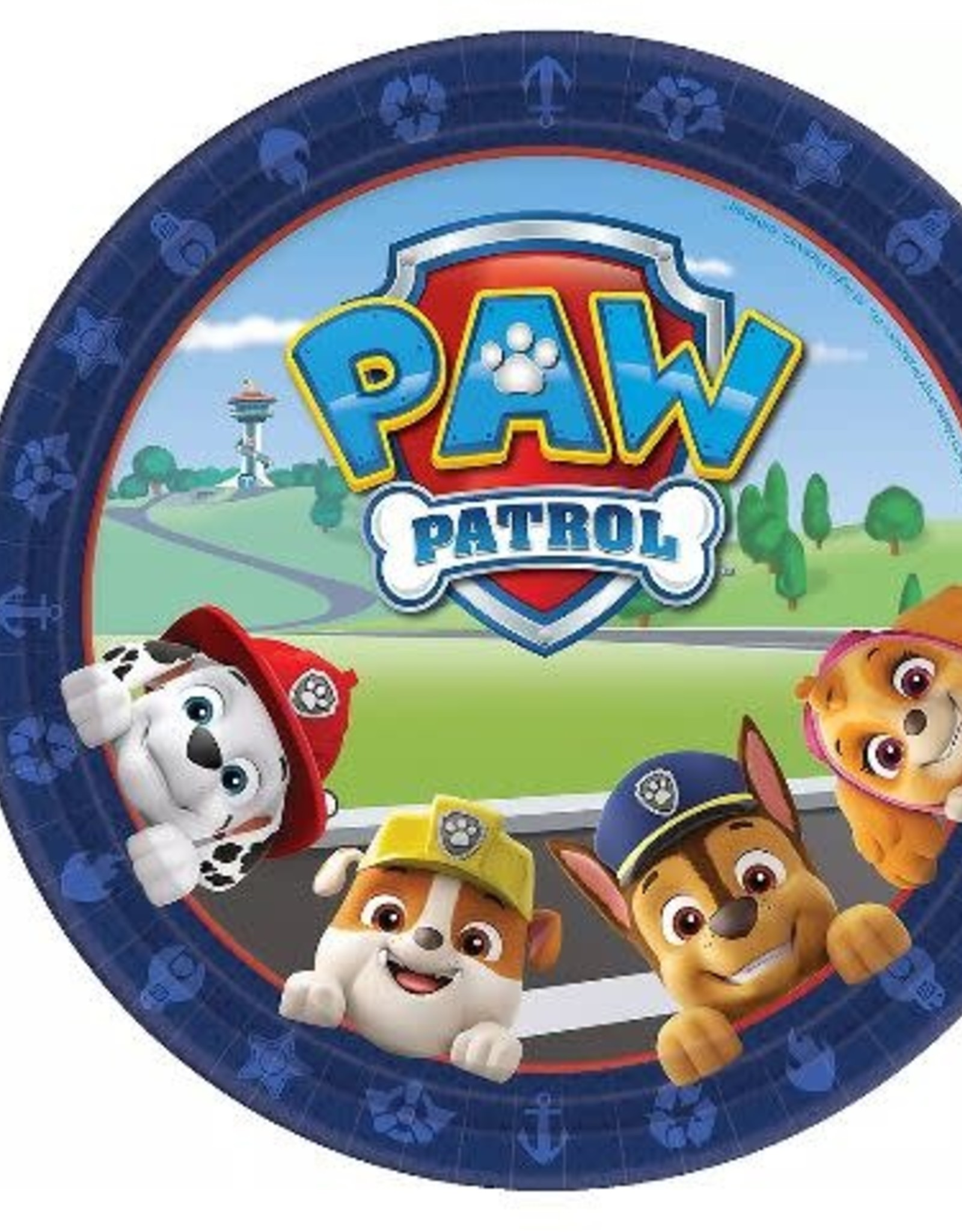 "Paw Patrol 9"" Paper Plates 8ct"