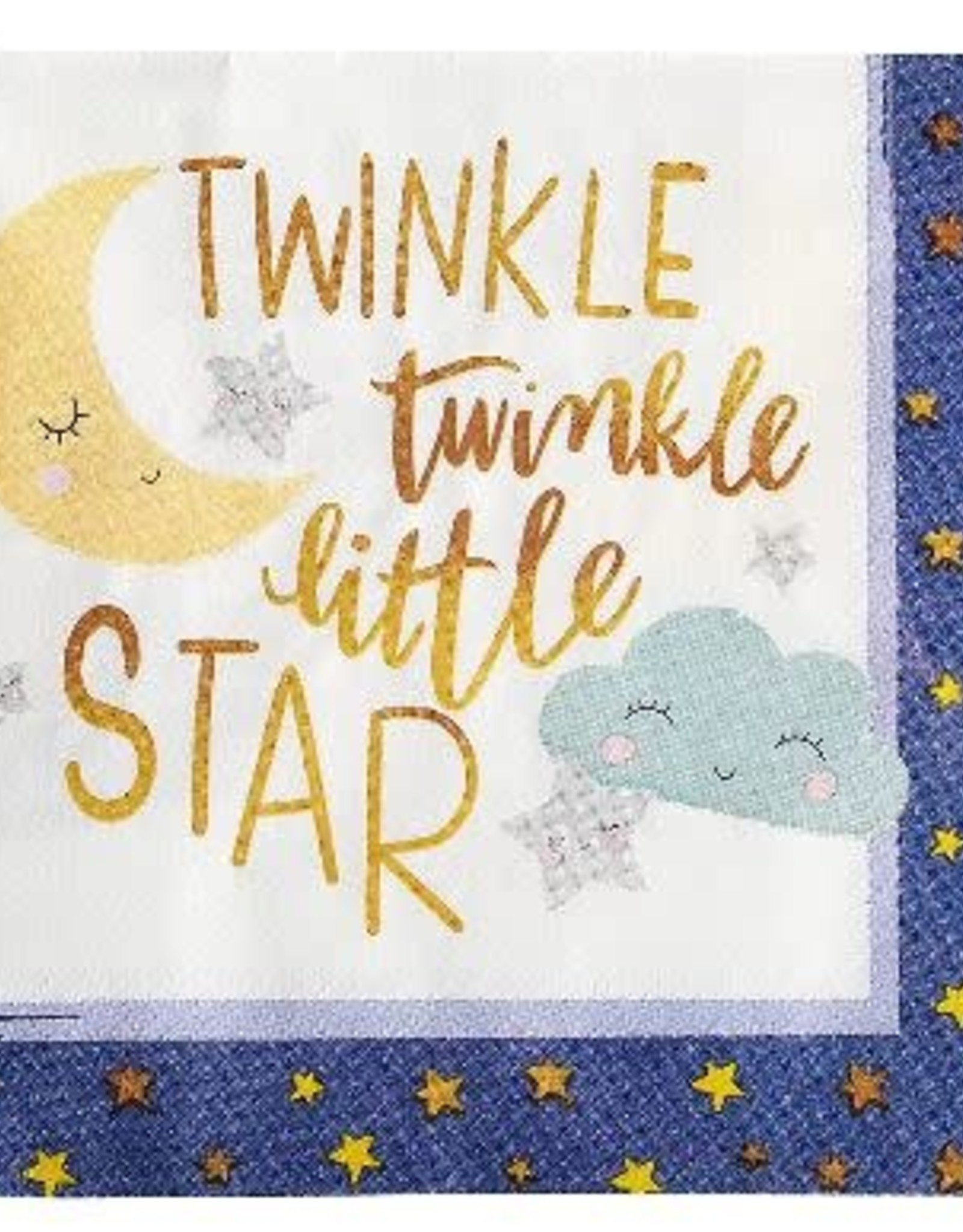 Twinkle Little Star Lunch Napkins 16 ct