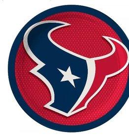 Houston Texans  Paper Plates 8 ct
