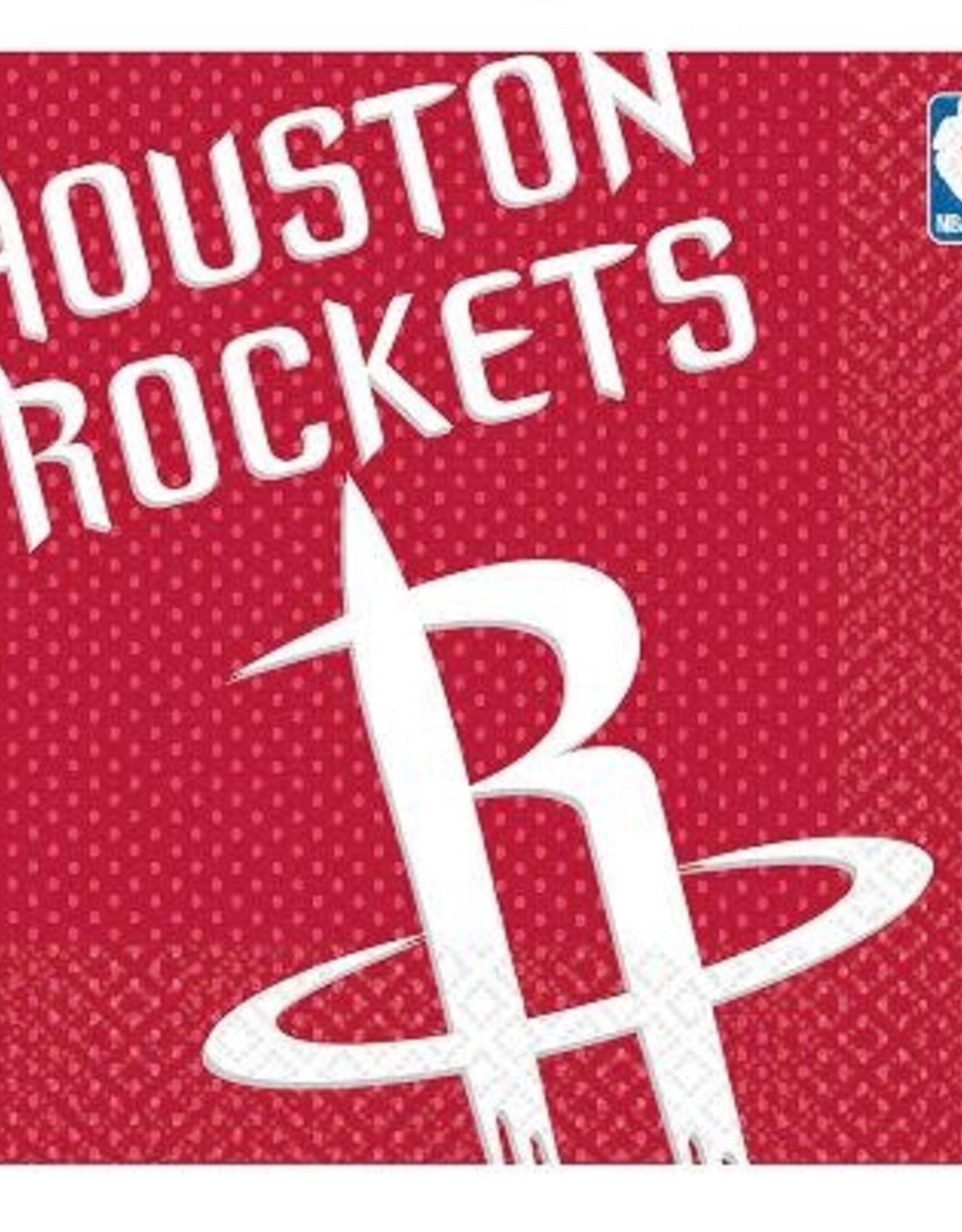 Houston Rockets Napkins 16 ct