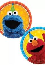 "Sesame Street 7 "" Paper Plates 8 ct"