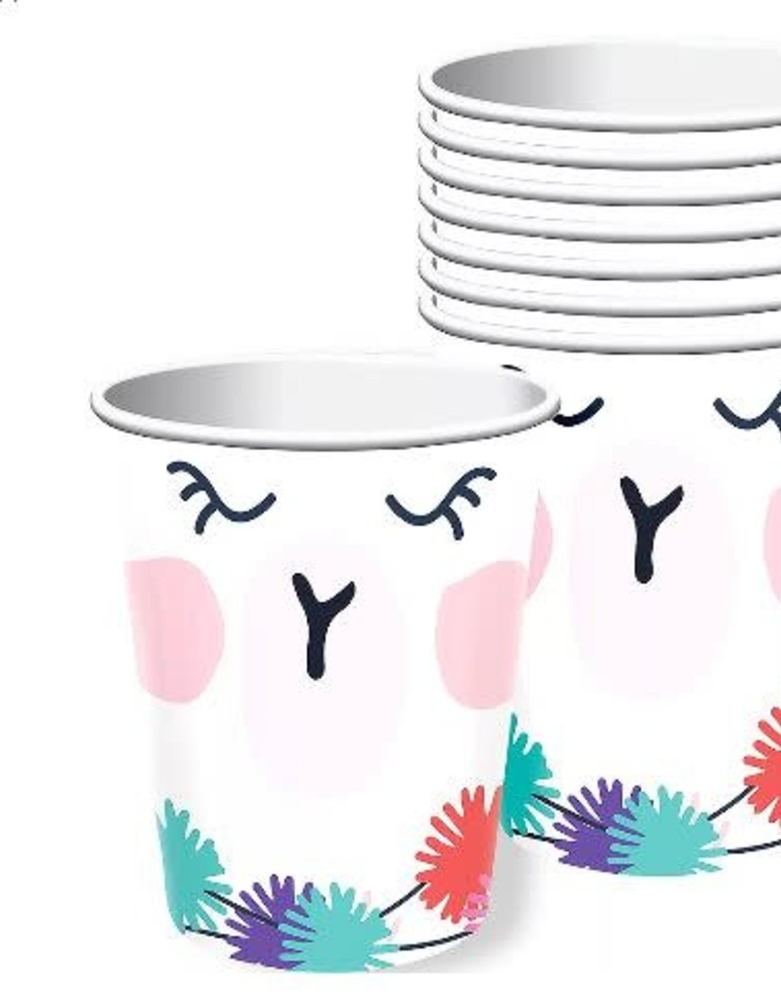 Llama Fun 9 oz Cups