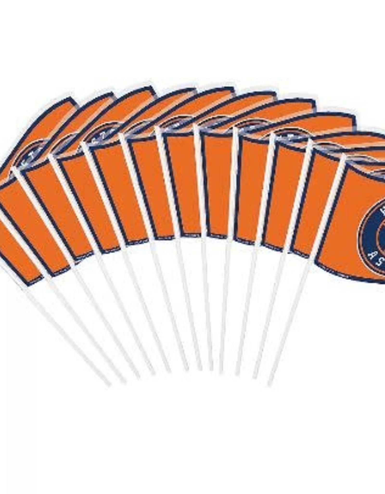 Houston Astros Mini Flags 12 ct