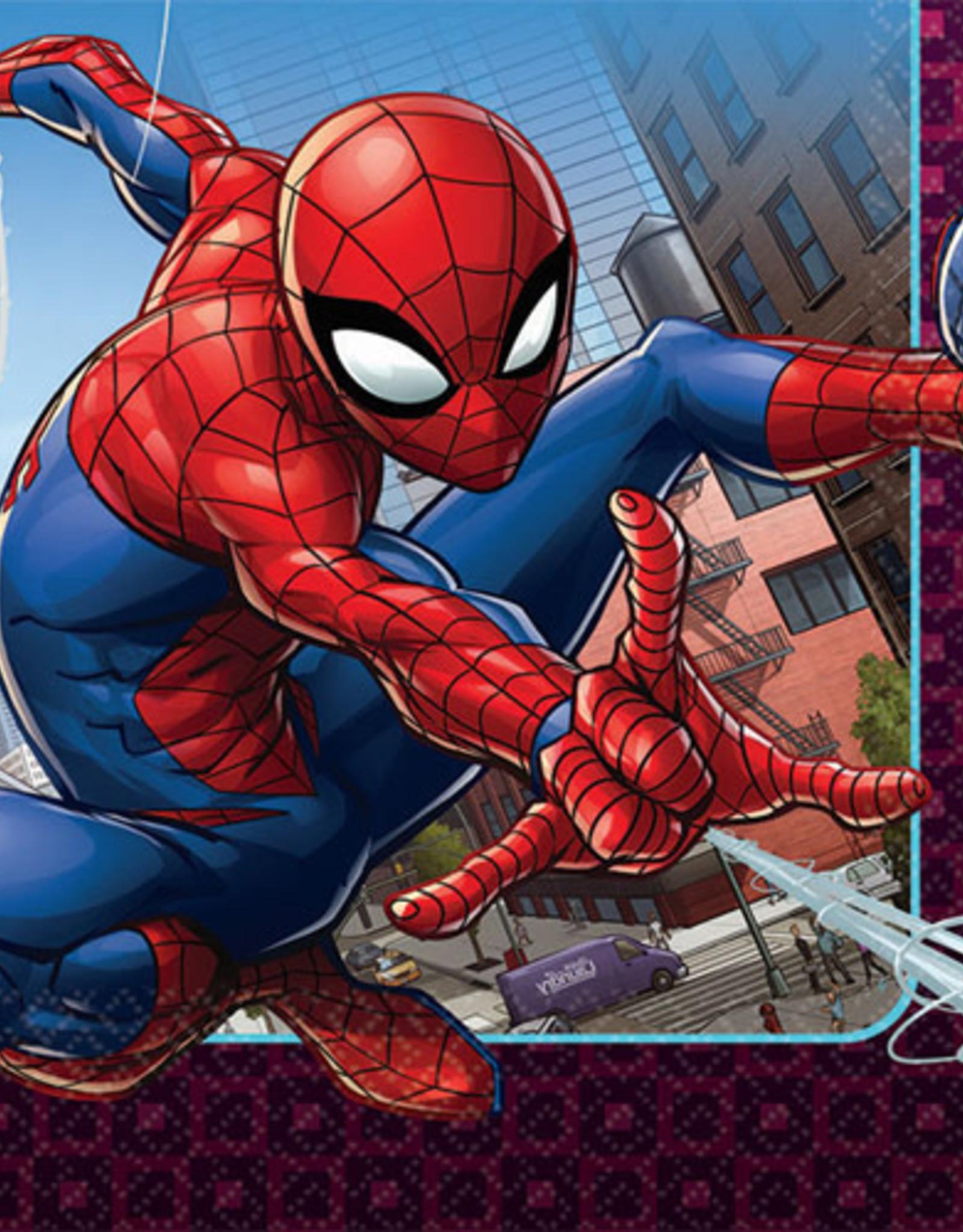 Spiderman Napkins 16 ct