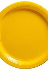 Yellow Sunshine 9 in Plate 20 ct