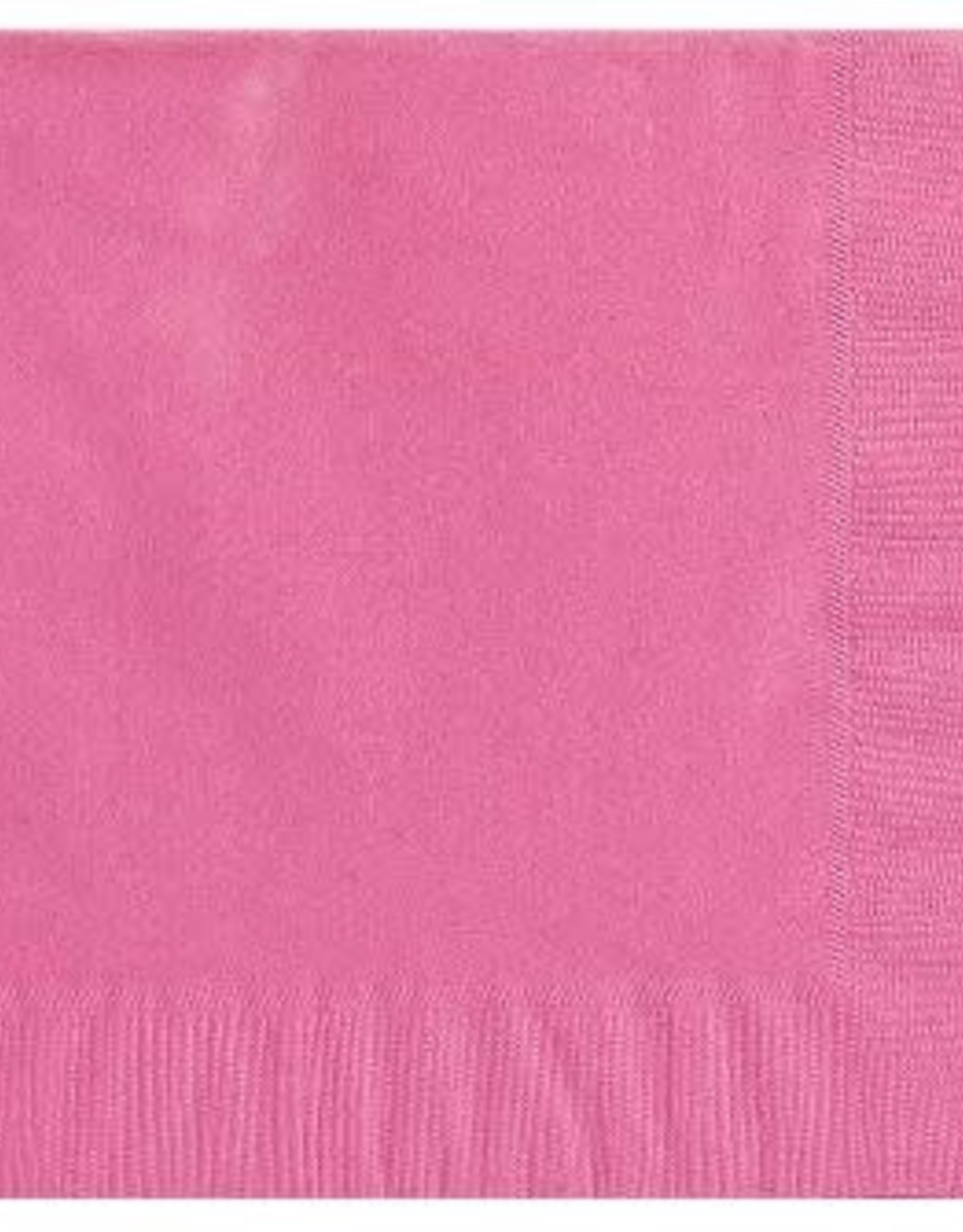 Bright Pink Cocktail Napkins 50ct