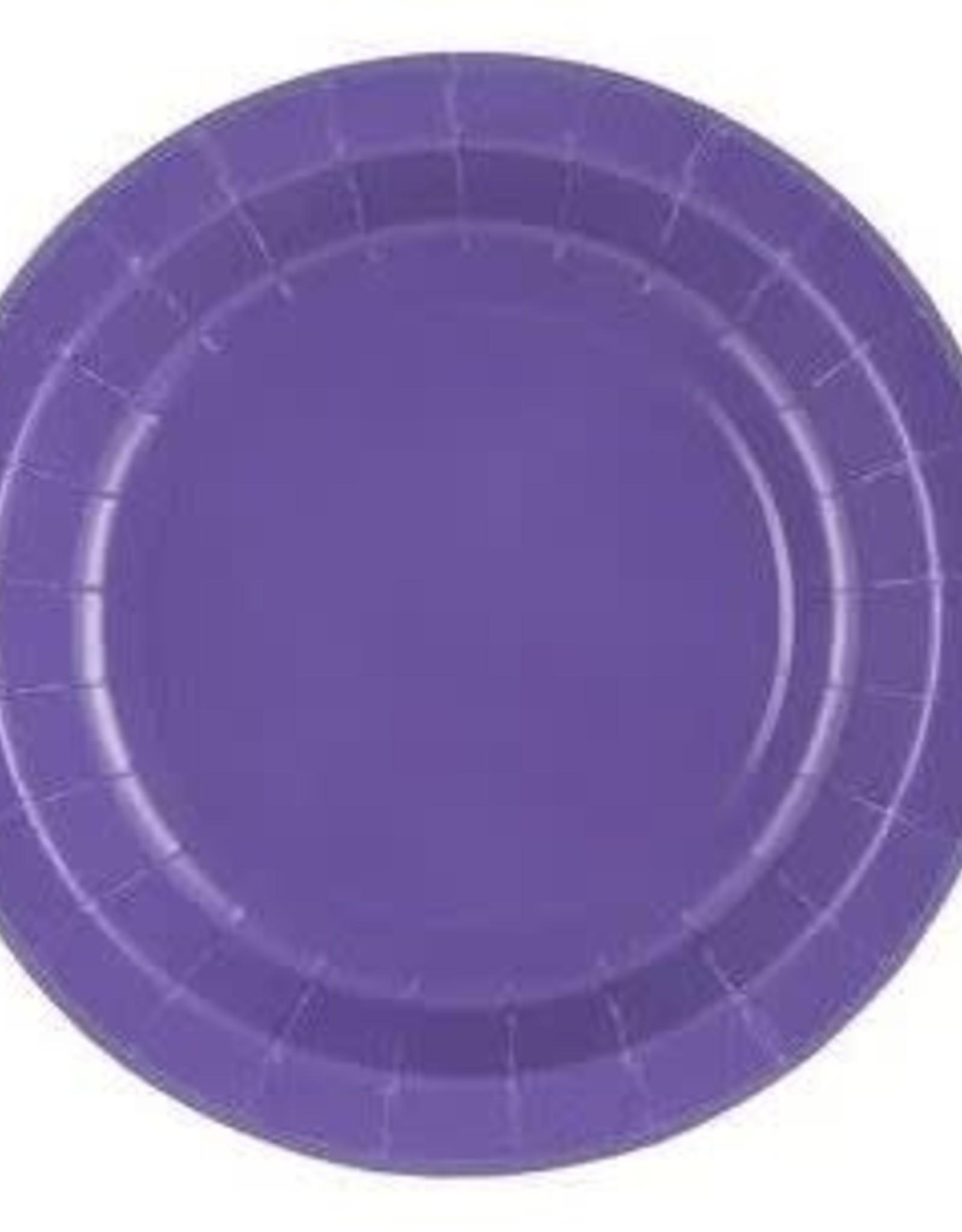 "Plate 9"" NEW PURPLE"