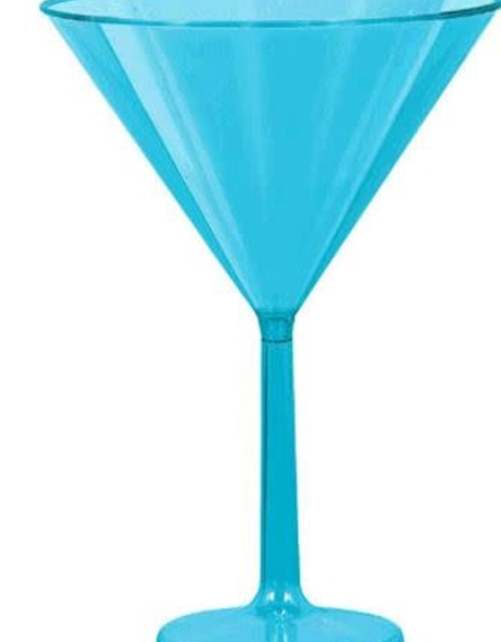 Jumbo Blue Martini Glass