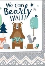 Bearly wait napkins