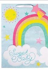 Rainbow sweet baby gift bag