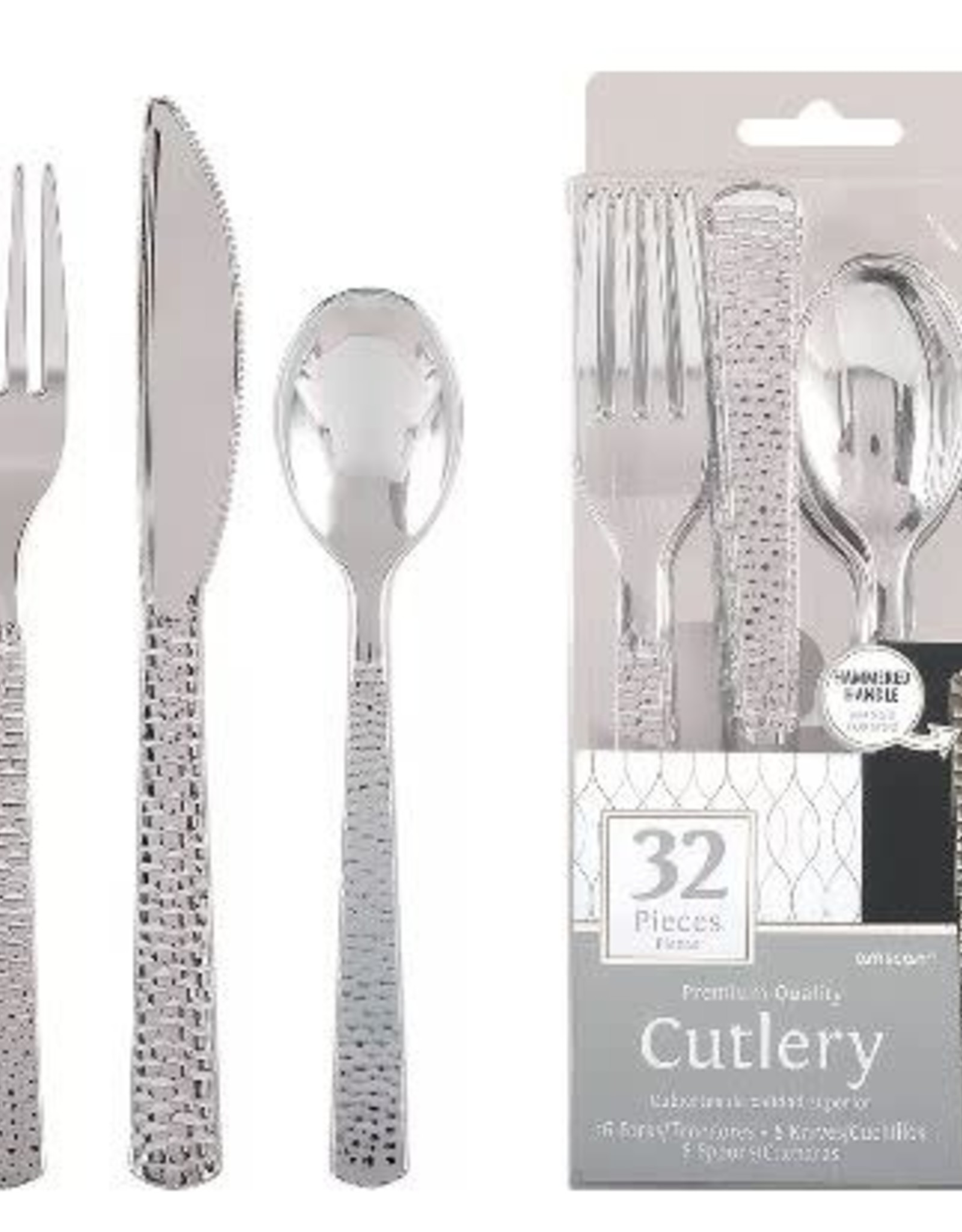 Premium Quality Cutlery Silver 32 pieces