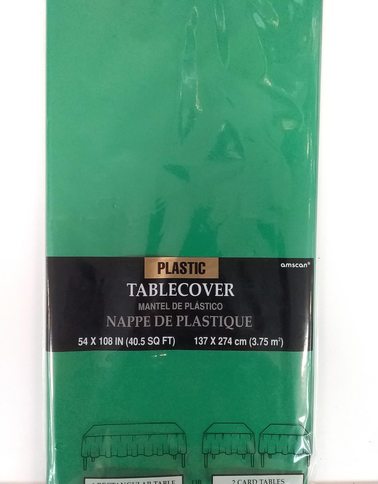 Festive Green Tablecover 54x108