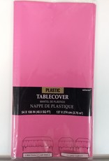 Bright Pink Tablecover 54x108