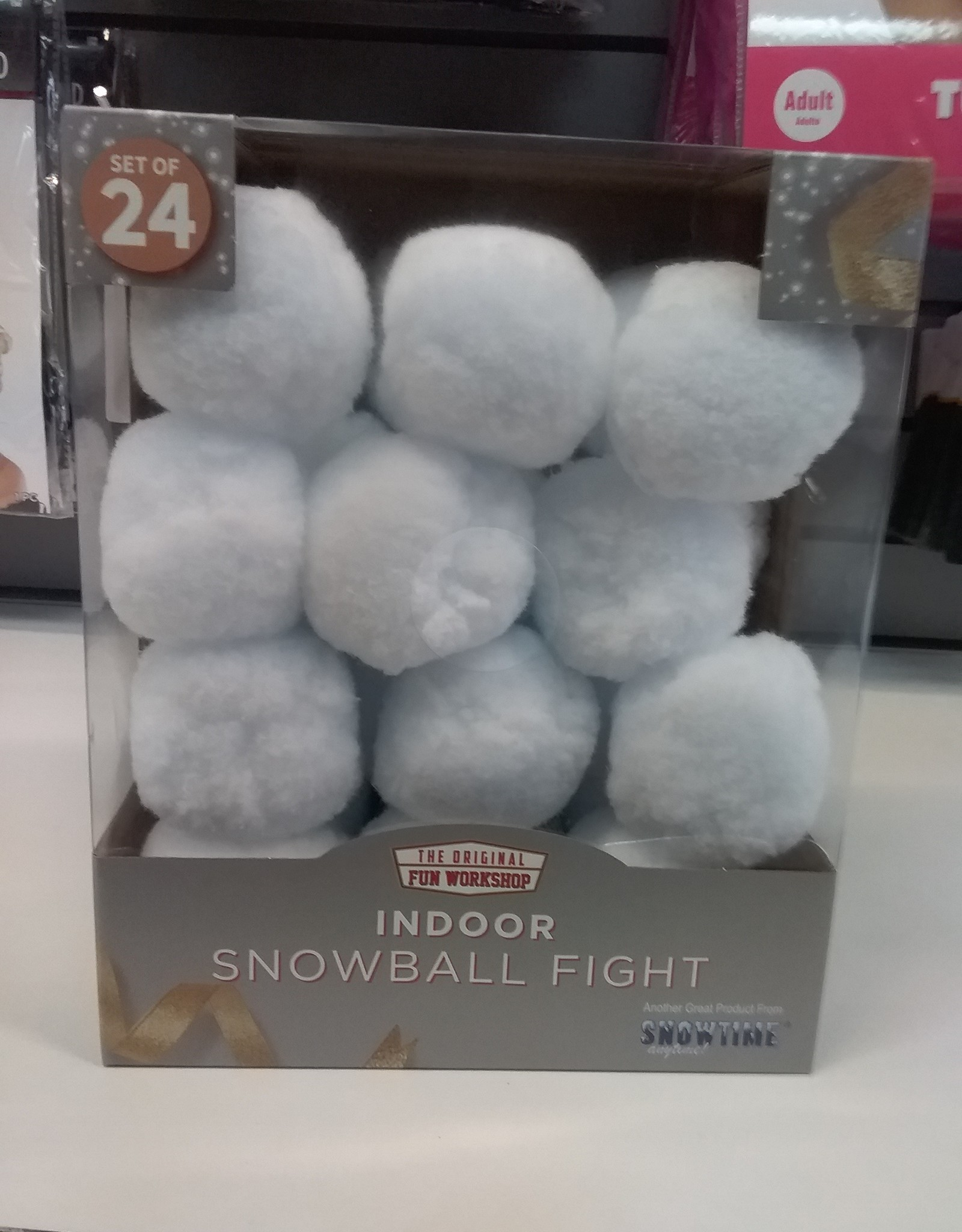 Indoor Snowball Package 24