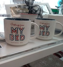 Greetings from my bed Mug