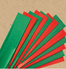 Red and Green Tissue Paper 24ct