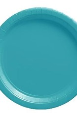 Carribean Blue 7 in Paper Plates 20 ct