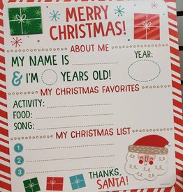 Children's Christmas Wishes Photo Prop