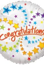 """18"""" Foil congratulations balloon"""