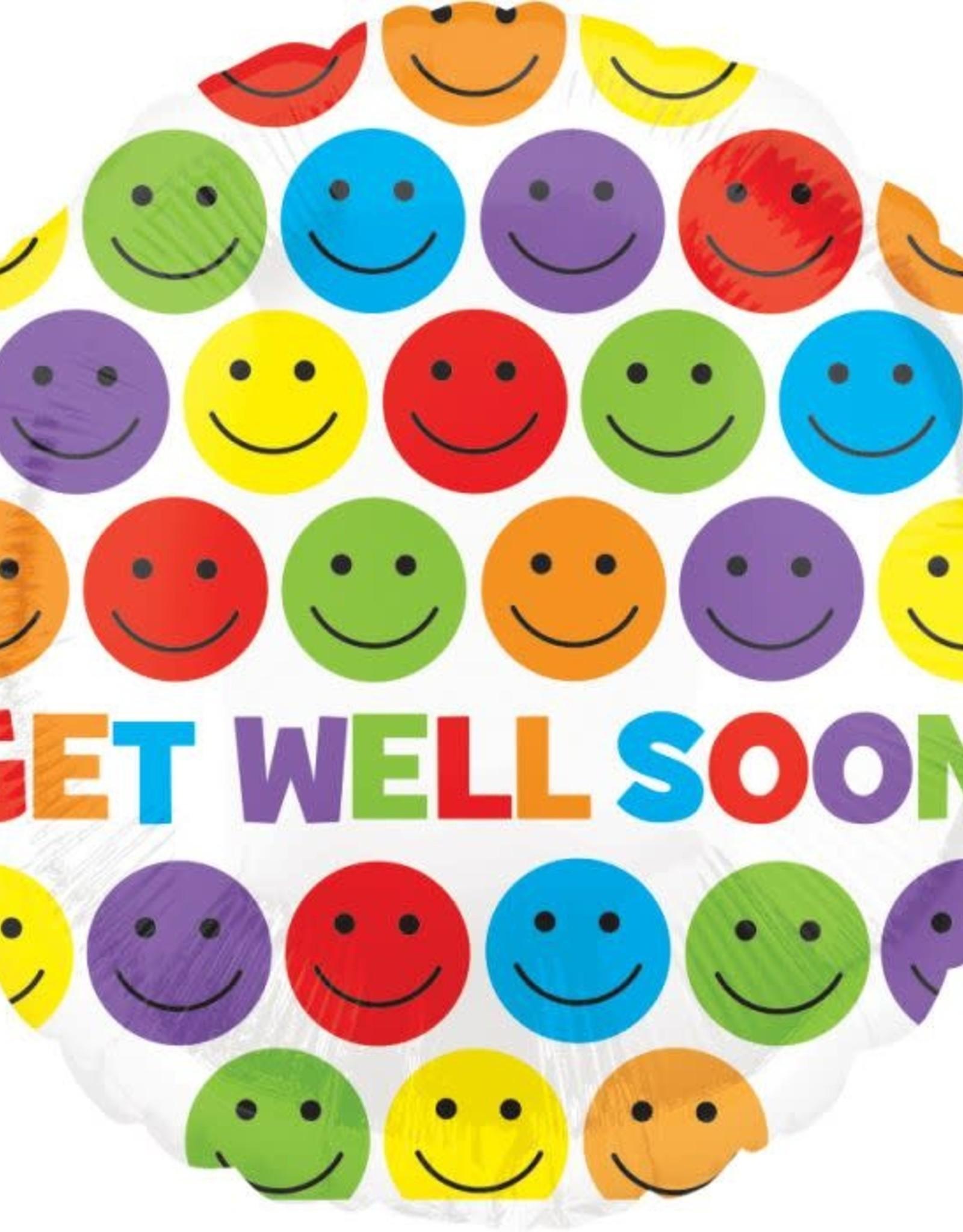 """Get well soon 18"""" balloon"""