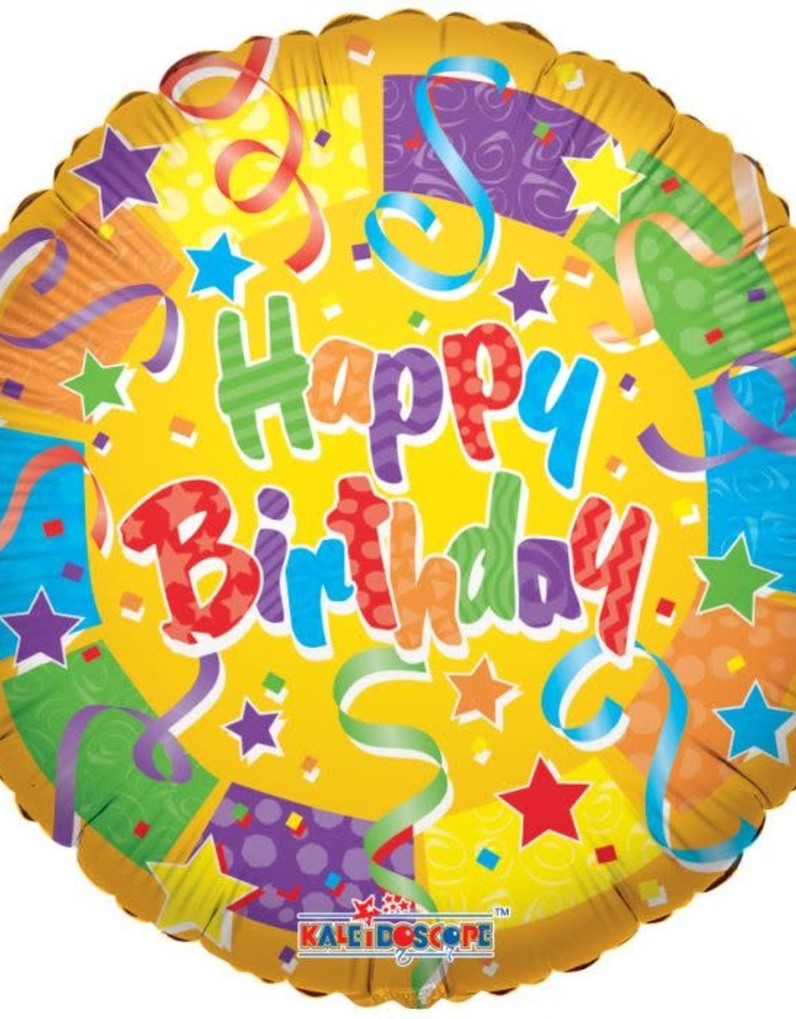 "Happy birthday balloon 18"""