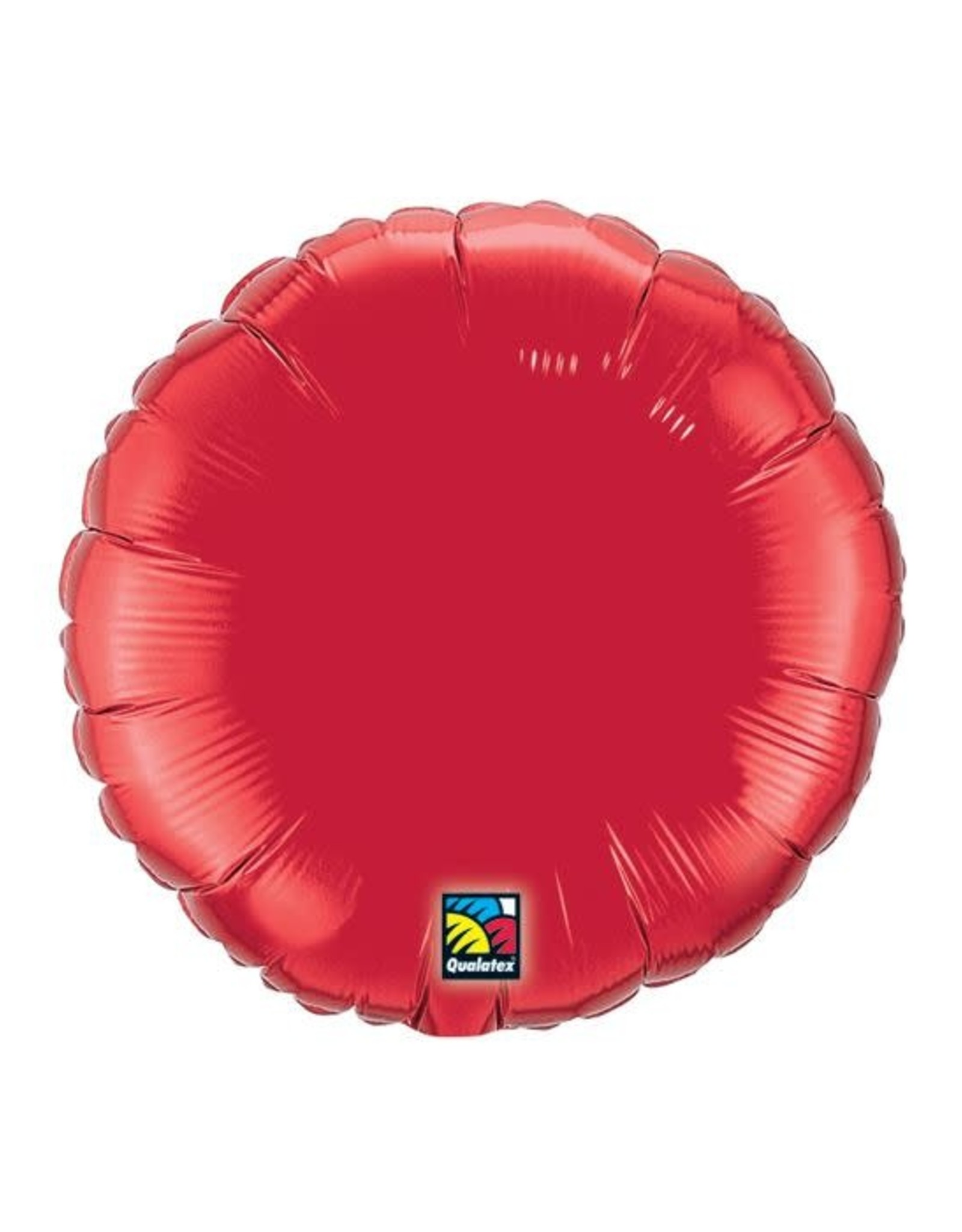 """9"""" Ruby red balloon"""