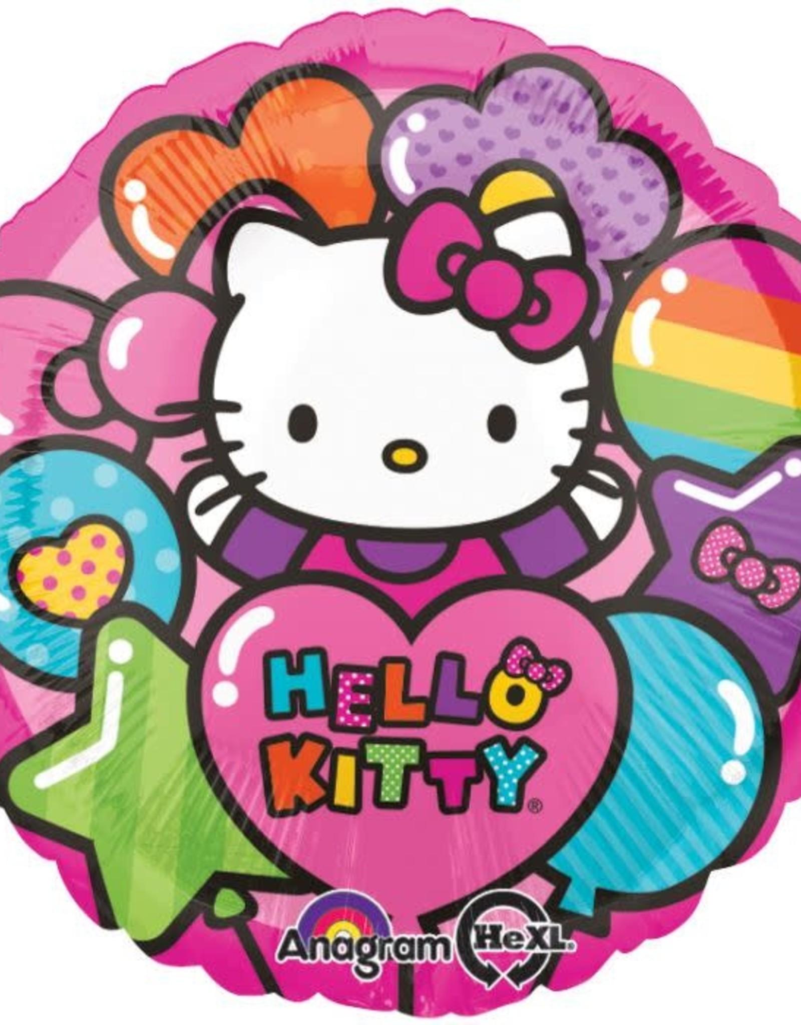 """18"""" Hello Kitty Rainbow Balloon"""