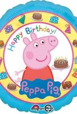 "18"" Peppa Pig Birthday Balloon"
