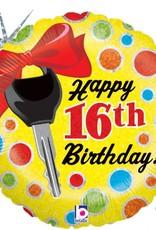 "18"" 16th birthday"