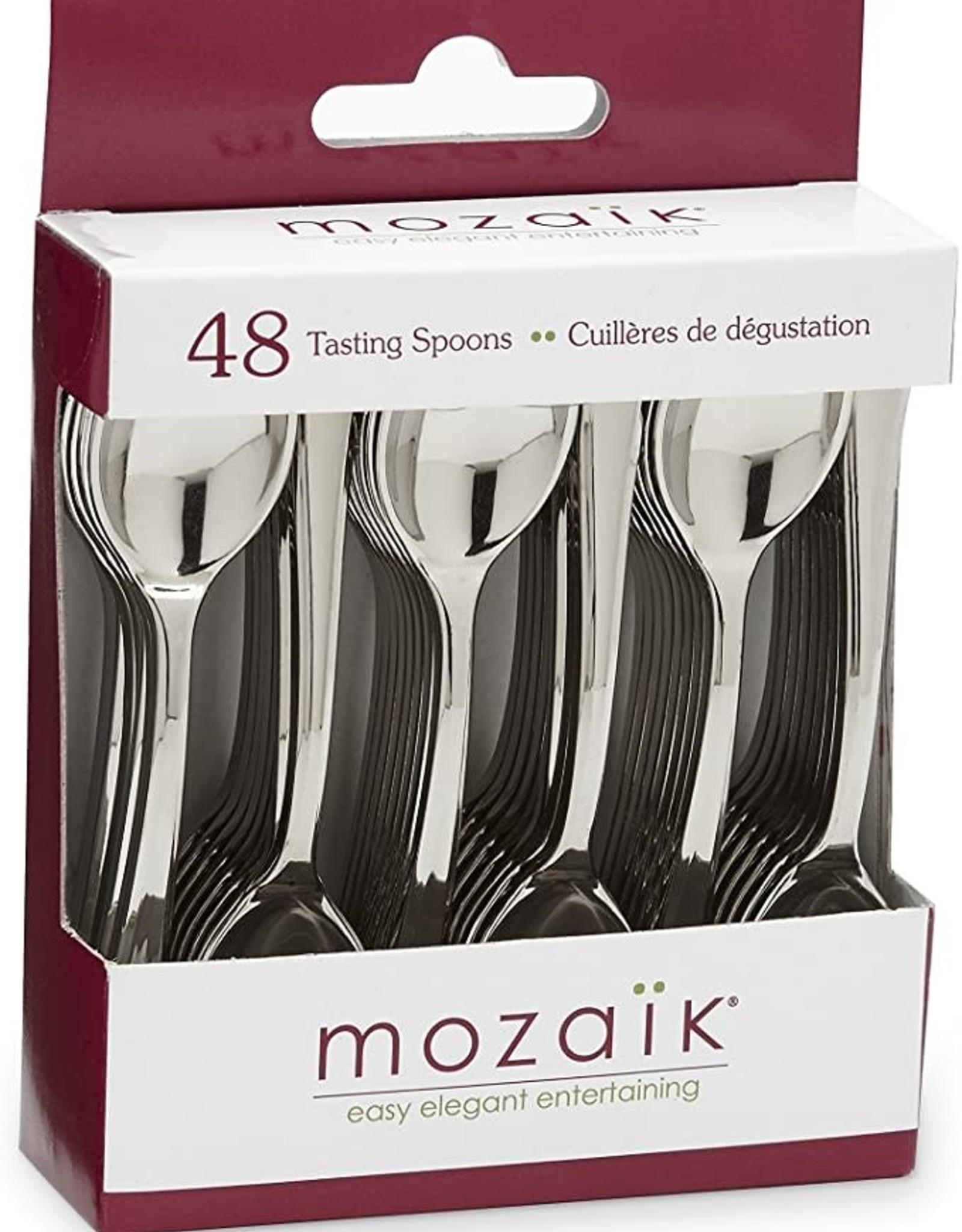 48 mini tasting spoons
