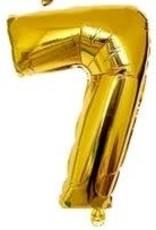 """16"""" Gold # 7 Balloon"""